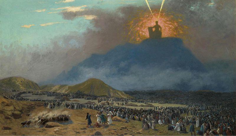 Mt. Sinai and Moses