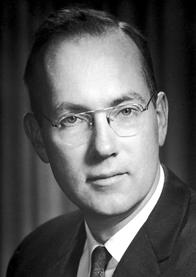 Charles Townes, when he won the Nobel Prize