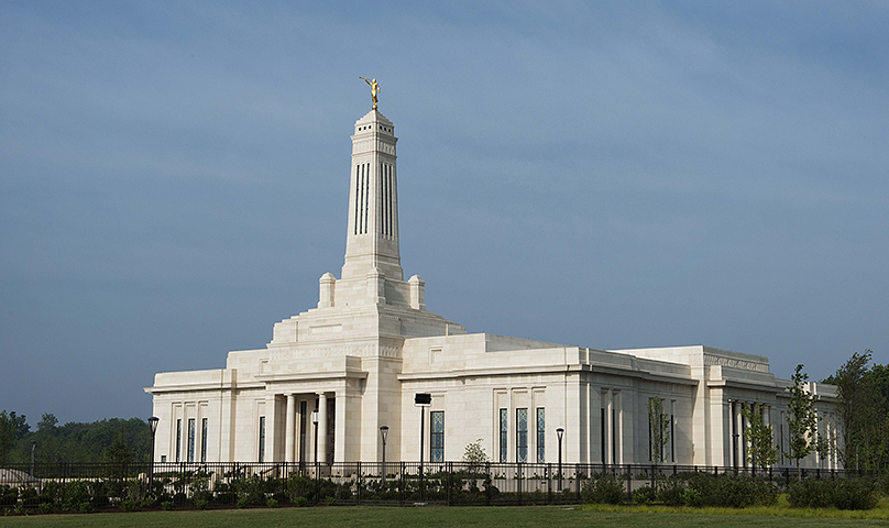 Indiana's first temple