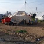 A Kurdish refugee camp in Iraq