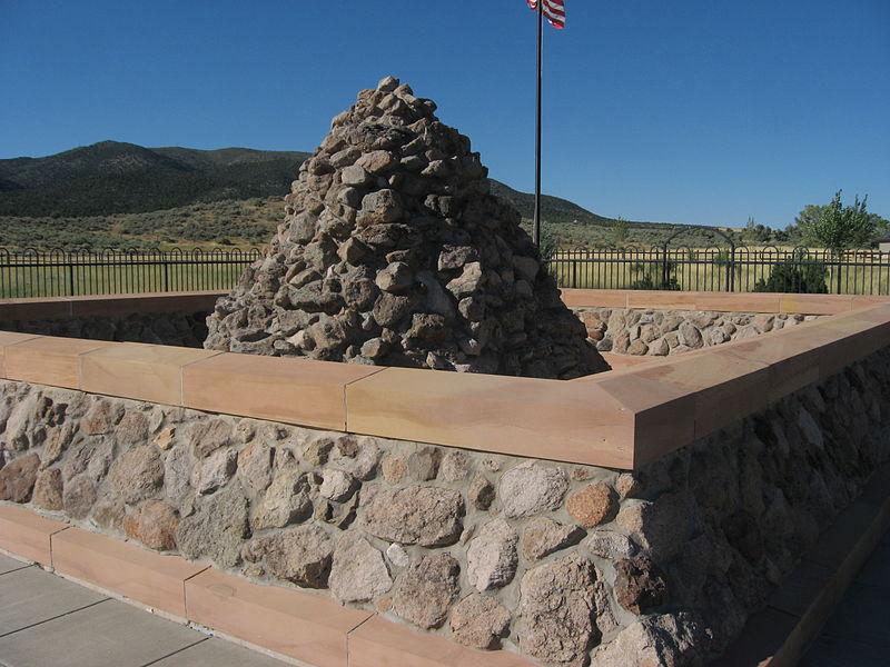 MMM memorial cairn