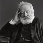 Around 1884, a photo of Victor Hugo