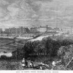English lunatic asylum in 19th cent.