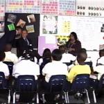 A historic moment in a Florida classroom