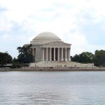 Across the Potomac Basin to the Jefferson Memorial