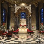 The high altar of Philadelphia's cathedral