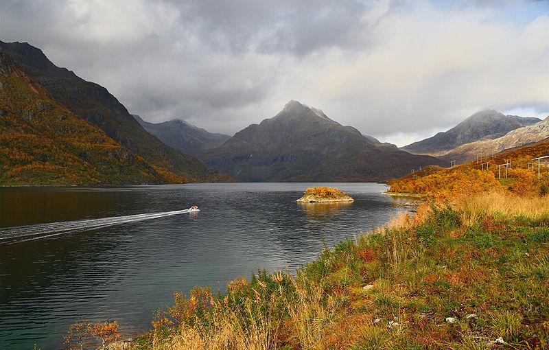 Innerfjord, in Norway