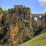 The ancient mountain town of Ronda