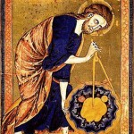 God the Geometer, with compass