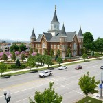 """An early look at the Provo City Center Temple"""