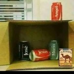 When you can't afford an expensive Nativity set