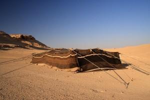 Syrian bedouin tent