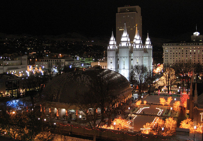 Temple Square Christmas!