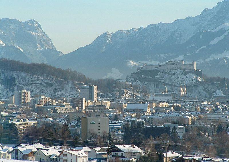 Salzburg in the Winter