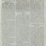 A chiastic article in a modern newspaper
