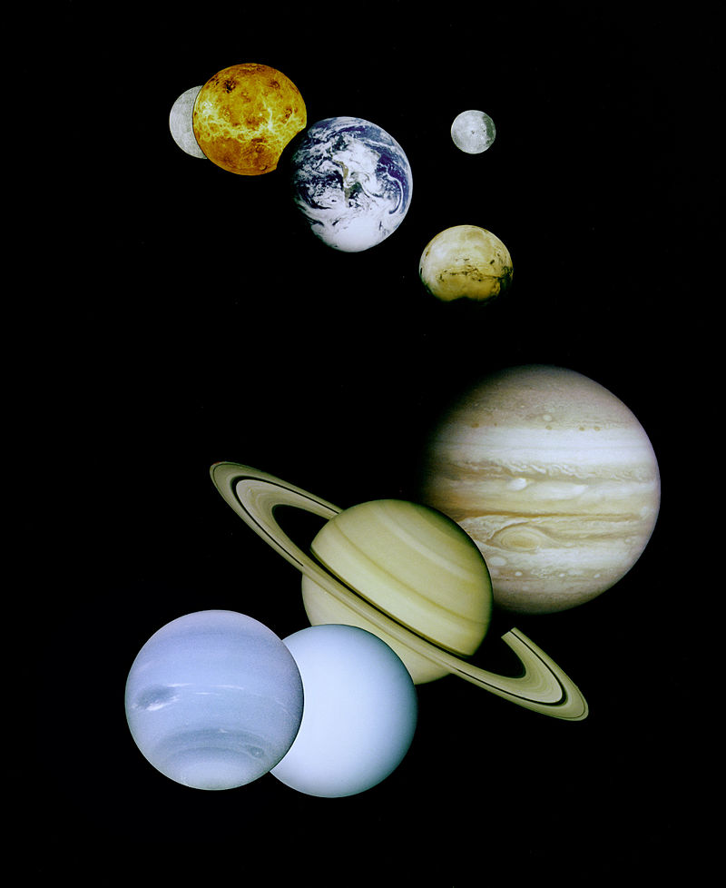 the 7 planets of solar system - photo #11