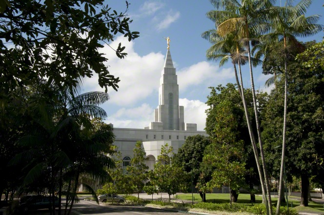 One of Brazil's temples