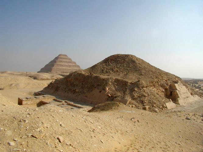 Two pyramids at Saqqara