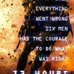 "The poster for ""13 Hours"""