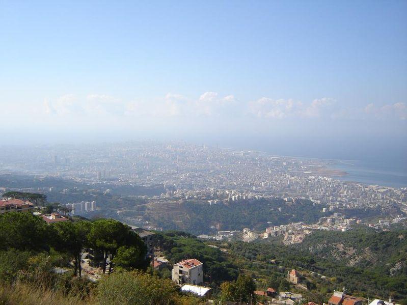 Ein Blick über Beirut