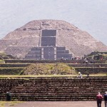 The Pyramid of the Sun at Teotihuacán