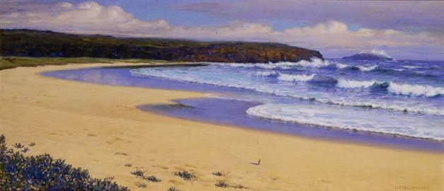 A painting of Laie Point