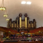 The Mormon Tabernacle Choir (really) does Händel
