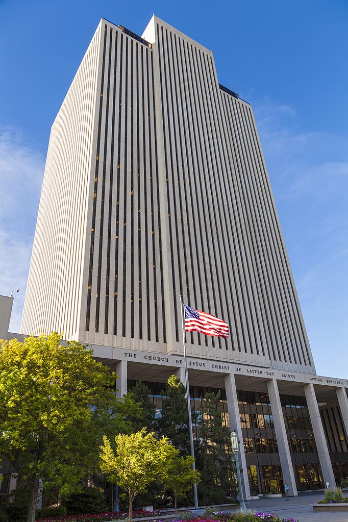 Mormon Headquarters Salt Lake City