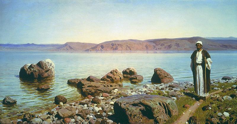 Polenov at the Sea of Galilee