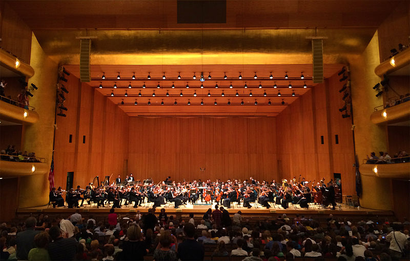 Reflections on attending the symphony tonight