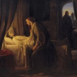 """""""Artist memorably captured moment before Savior's miracle"""""""