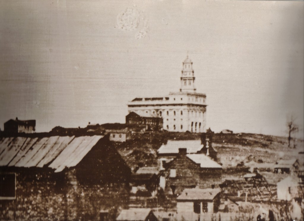 The first temple at Nauvoo