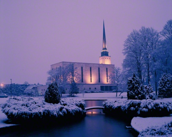 England's first Mormon temple