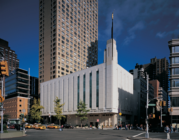 The temple in New York City
