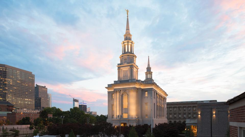 News coverage of the new Philadelphia Pennsylvania Temple