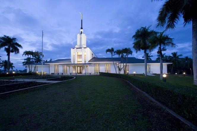 Tonga's temple