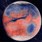 Liquid water on Mars (and, thus, potential for life) later than previously thought?