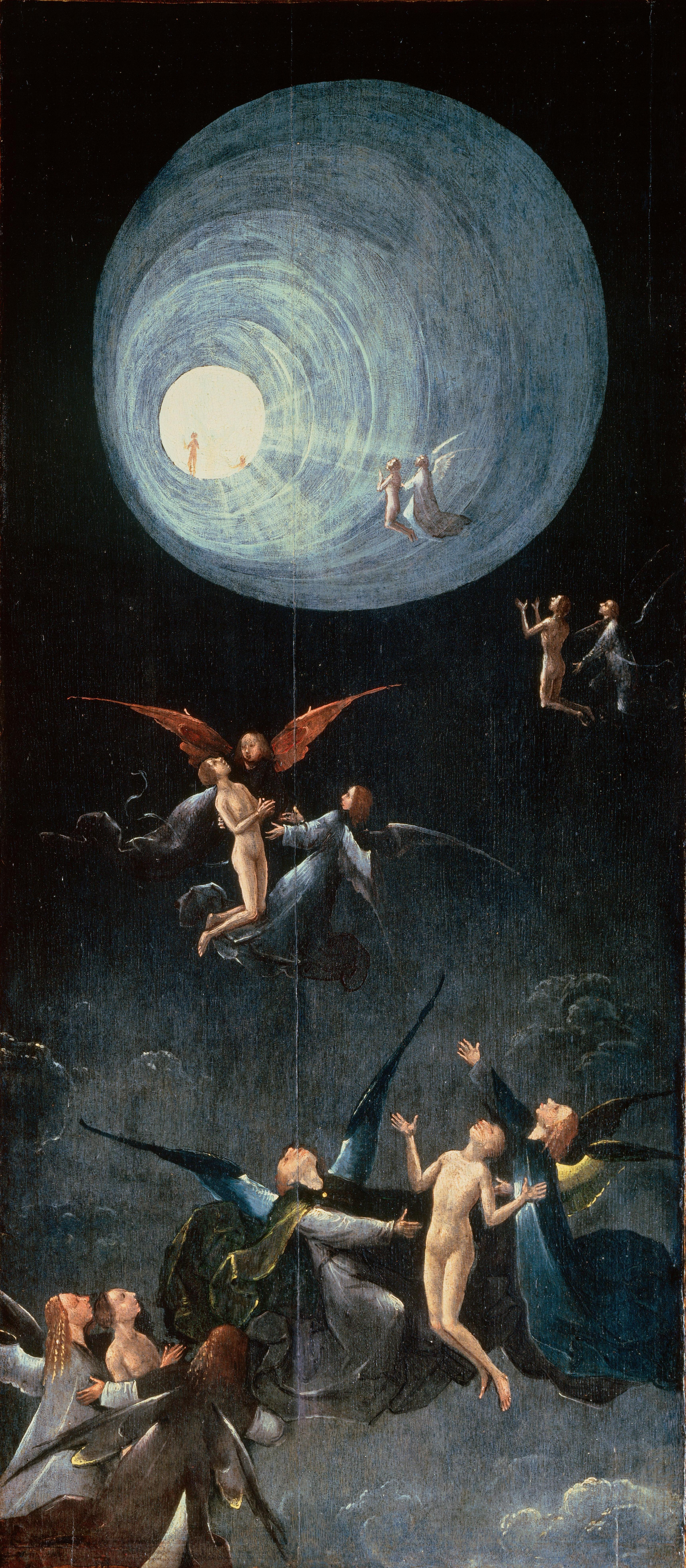 """Bosch's """"Ascent to the Empyrean"""""""