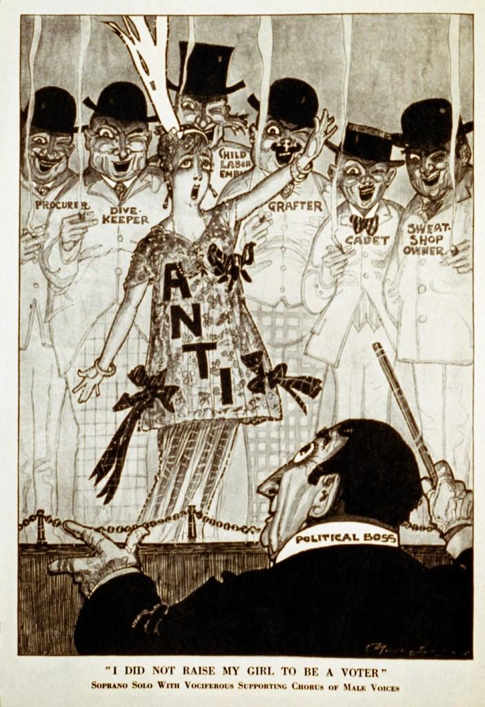 Puck cartoon 1915