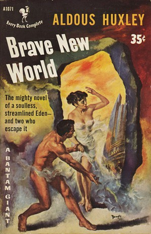 the non existence of individualism in the novel brave new world by aldous huxley If you're familiar with george orwell's 1984  equally chilling: aldous huxley's brave new world  the fusion of people who have known individualism and.