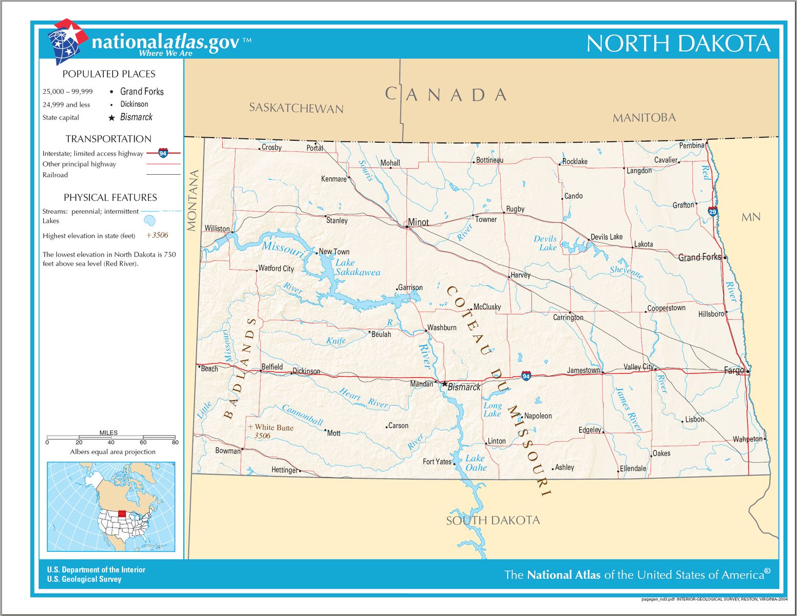 QuotNorth Americas Geographical Center May Be In A North