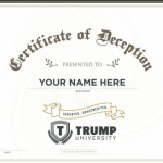 """""""More Than Three Hundred Million Americans Now Enrolled in Trump University"""""""