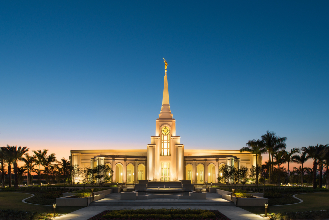 Florida's second temple