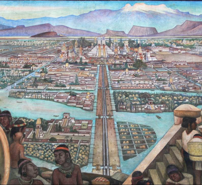 Tenochtitlan before the Conquest