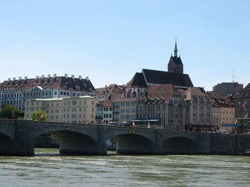 Basel vom Rhein