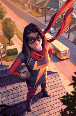 Marvel's Kamala Khan superhero