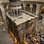 The traditional tomb of Jesus, restored