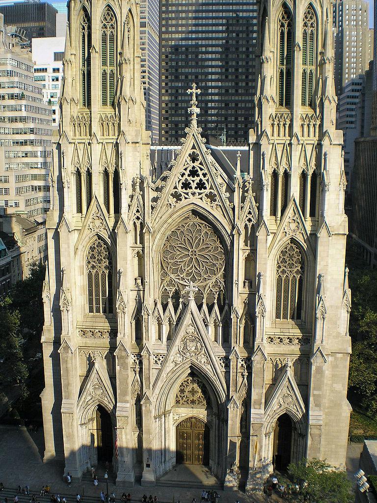 St. Patrick's, in New York