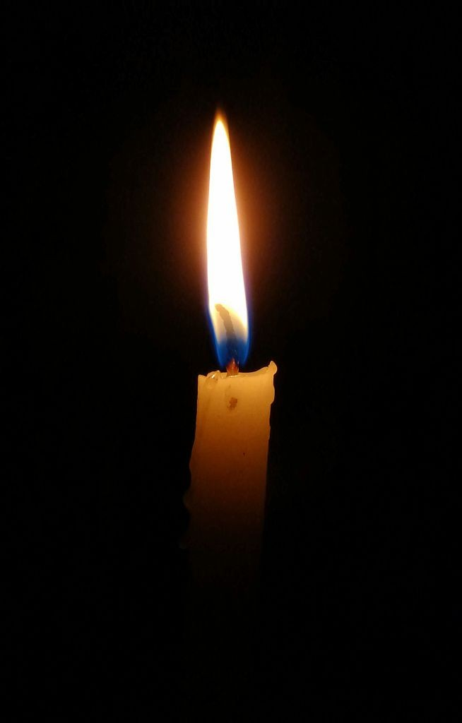 candle in the dark - photo #24