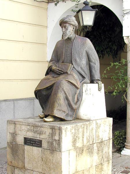 A Spanish statue of Maimonides